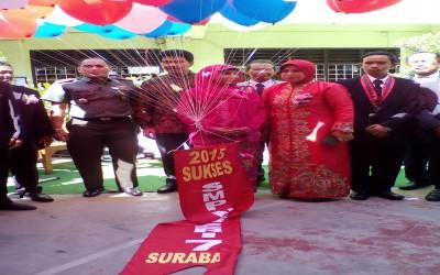 SMP Negeri 7 Surabaya Lepas dan Wisuda 306 Siswa-Siswi