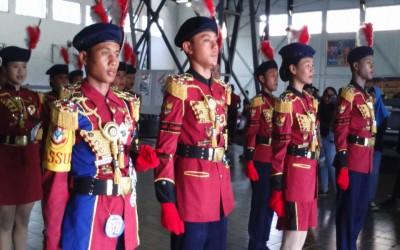 PASBATURA ( Pasukan Pengibar Bendera SMP Negeri 7 Surabaya)